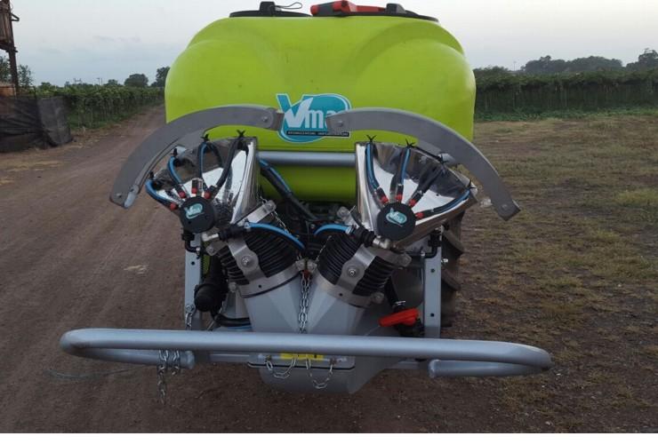 Atomizadores-Viñas con entoldado-Transportados-Nm 200