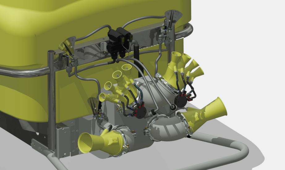 Atomizadores-Viñas con entoldado-Remolcados-Optima Lt 1500 - Lt 2000