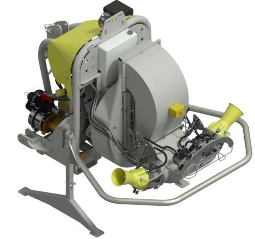 Atomizadores-Viñas con entoldado-Articulados-Power Tendonelt 1000 - Lt 1500 - Lt 2000