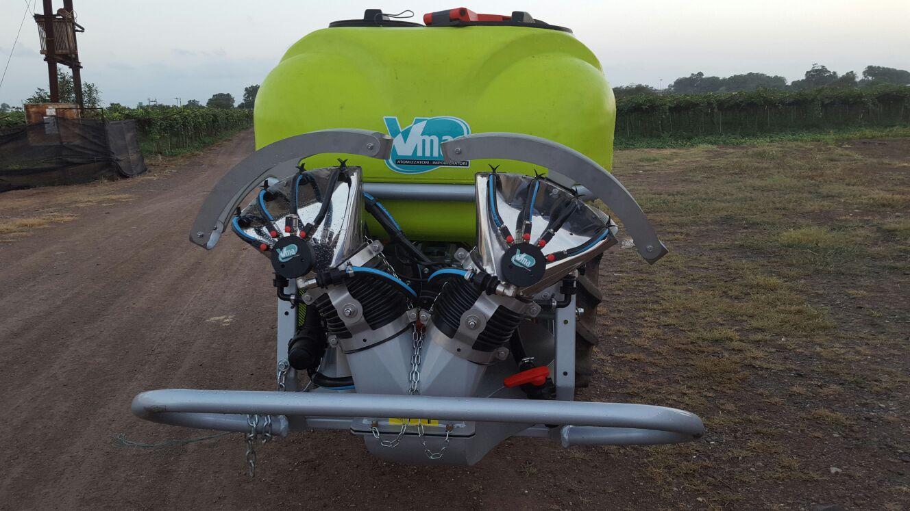 Atomizadores-Viñas con entoldado-Remolcados-Nm 600