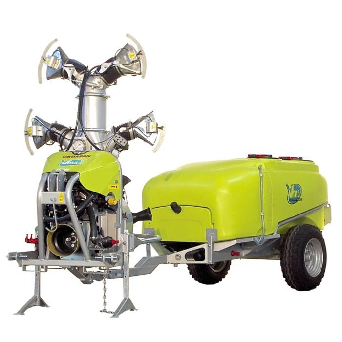 Atomizadores-Árboles frutales - URUAPAN / FP 550<br>LT 1000 - LT 1500 - LT 2000 - ≥ CV 75 - 55 KW