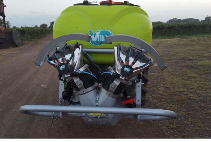 Atomizadores-Viñas en espaldera-Transportados-Nm 200