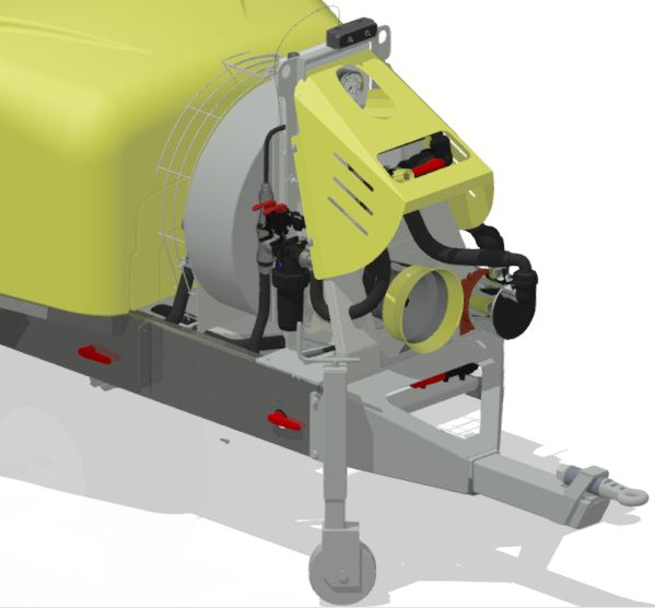 Atomizadores-Viñas en espaldera-Remolcados-Optima Lt 1500 - Lt 2000