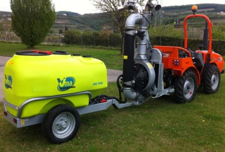 Atomizadores-Viñas en espaldera-Dos hilos-Power 50lt 1000 - Lt 1500 - Lt 2000